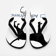 Redbone-Coonhound13 Flip Flops