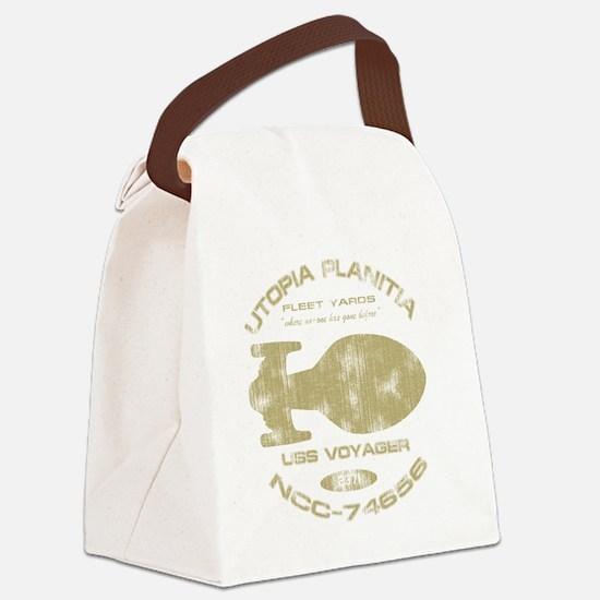 voyager-shipyards-worn-for-dark Canvas Lunch Bag