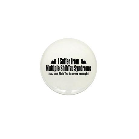 Shih Tzu Mini Button (100 pack)