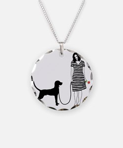 Redbone-Coonhound11 Necklace