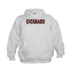 Pipe Band: Only the Strong Su Hoodie