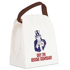 Redbone-Coonhound18 Canvas Lunch Bag