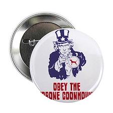 """Redbone-Coonhound18 2.25"""" Button"""