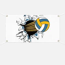 Volleyball Burst Banner