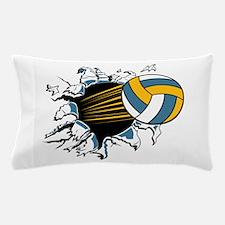 Volleyball Burst Pillow Case