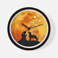 Rottweiler22 Wall Clock