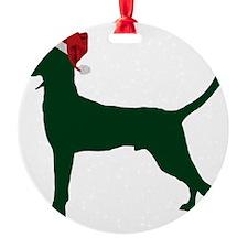 Redbone-Coonhound23 Round Ornament