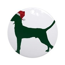 Redbone-Coonhound23 Round Ornament