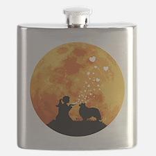 Shetland-Sheepdog22 Flask