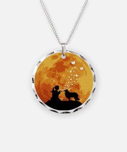 Rough-Collie22 Necklace