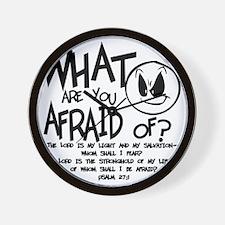 afraid2 Wall Clock