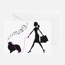 Shetland-Sheepdog32 Greeting Card