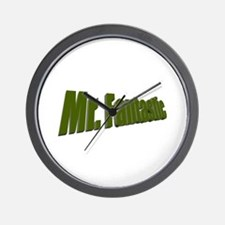 Mr. Fantastic Wall Clock