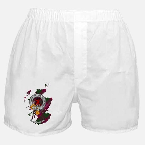 Clan Crawford Crest Boxer Shorts