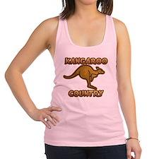 Kangaroo Country C1c copy Racerback Tank Top