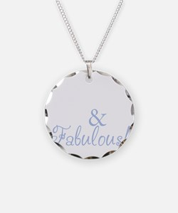 40 and fabulous_dark Necklace