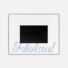 40 and fabulous_dark Picture Frame