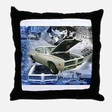 69 GTO Judge Throw Pillow