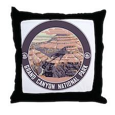 circle-GCNP_v3 Throw Pillow