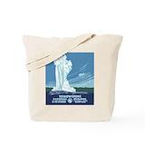 National parks Regular Canvas Tote Bag