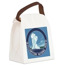 circle-Yellowstone Canvas Lunch Bag