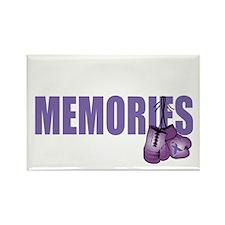 Fight-Alzheimers-2009-BLK Rectangle Magnet