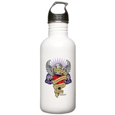 Alzheimers-Dagger-2009 Sports Water Bottle