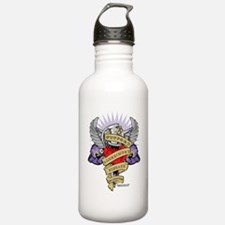 Alzheimers-Dagger-2009 Sports Water Bottle