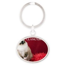 2011 Cover Oval Keychain