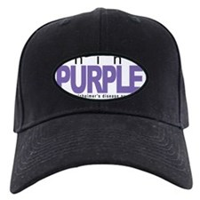 Alzheimers-THINK-Purple Baseball Hat