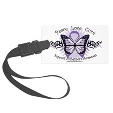 AlzheimersTribal-Butterfly-2009 Luggage Tag