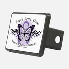 AlzheimersTribal-Butterfly Hitch Cover