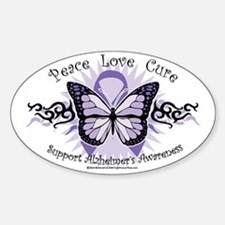 AlzheimersTribal-Butterfly-2009 Decal