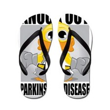 Knock-Out-Parkinsons-Disease Flip Flops