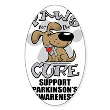 Paws-for-the-Cure-Parkinsons Decal