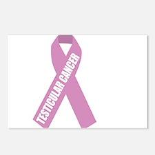 Testicular-Cancer-Hope-bl Postcards (Package of 8)