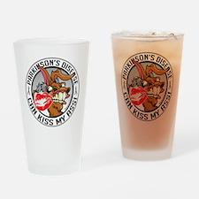 Parkinsons-Disease-Kiss-My-Ass Drinking Glass
