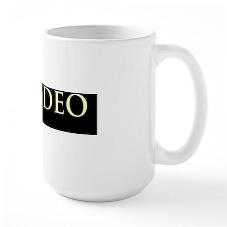 Laus-Deo-(black) Large Mug