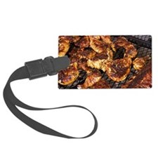 Rootstown. BBQ chicken and ribs  Luggage Tag