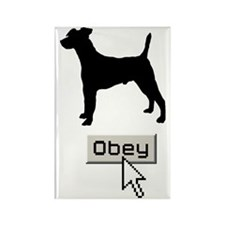 Smooth-Fox-Terrier15 Rectangle Magnet