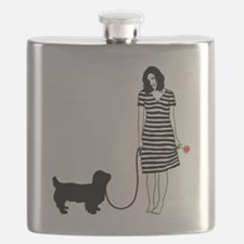Sussex-Spaniel11 Flask