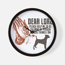 Smooth-Fox-Terrier19 Wall Clock