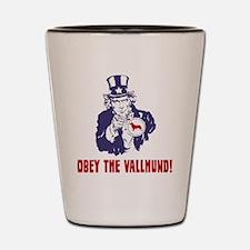 Swedish-Vallhund18 Shot Glass