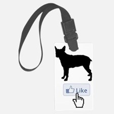 Stumpy-Tail-Cattle-Dog20 Luggage Tag