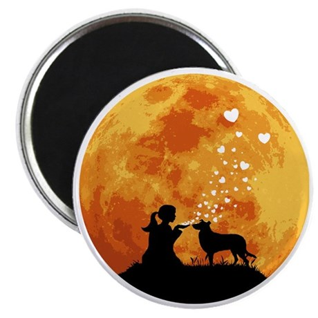Smooth-Collie22 Magnet