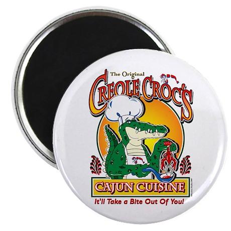 "Creole Crocs Cajun Cuisine 2.25"" Magnet (100 pack)"