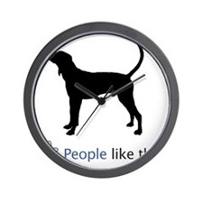Treeing-Walker-Coonhound03 Wall Clock