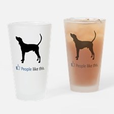 Treeing-Walker-Coonhound03 Drinking Glass