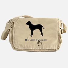 Tosa-Inu13 Messenger Bag