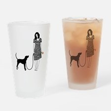 Treeing-Walker-Coonhound11 Drinking Glass